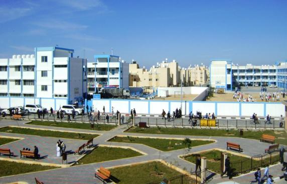 گزارش تصویری از شهرک مدرن و مجهزی که عربستان سعودی در غزه بنا کرد