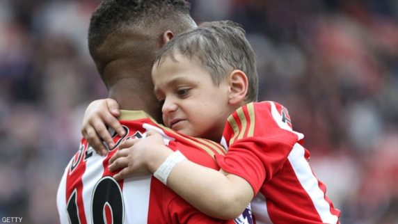 درگذشت کودک پنج ساله هوادار ساندرلند انگلیس +تصاویر