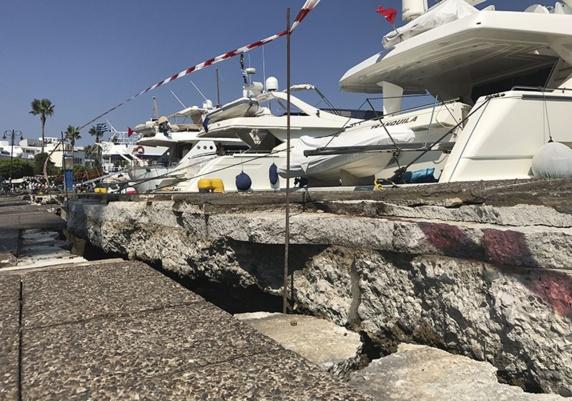 وقوع زلزله شدید در سواحل ترکیه و یونان چندین کشته و زخمی برجای گذاشت