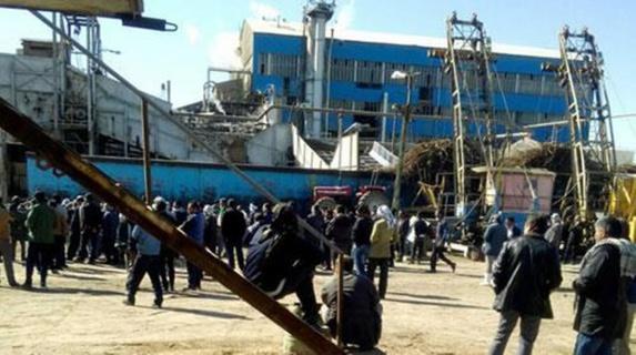 شلیک مأموران نیروی انتظامی به تجمع اعتراضی کارگران نیشکر هفت تپه