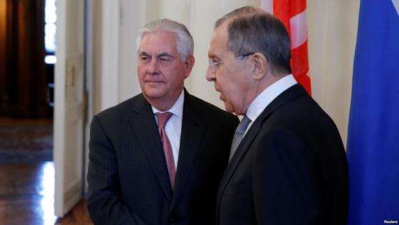 آقای تیلرسون و لاوروف برای اولین بار بعد از تصویب تحریم جدید علیه روسیه توسط کنگره دیدار کردند.