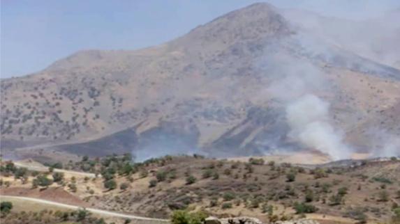 بمباران مناطق مرزی اقلیم کوردستان از سوی سپاه پاسداران ایران