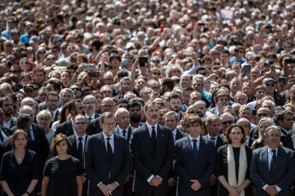واکنش های جهانی به حمله تروریستی در شهر بارسلون اسپانیا
