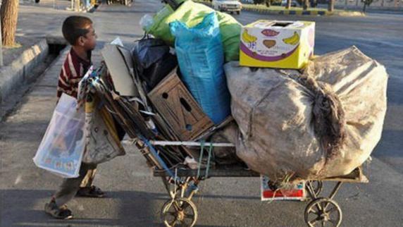 هفت میلیون کودک کار و بی سرپرست در ایران