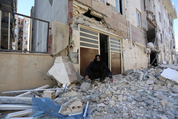 زلزله در کرمانشاه بیش از دوازده هزار واحد مسکونی ویران شده و دو هزار کشته بر جای گذاشت