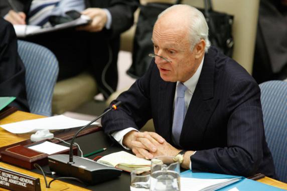 حضور اپوزیسیون و غیاب اسد در هشتمین دوره مذاکرات صلح سوریه در ژنو