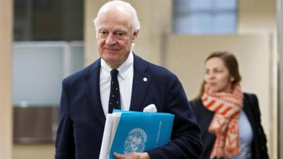 دیمستورا: روسیه باید رژیم اسد را به عدم «وقتکشی» قانع کند