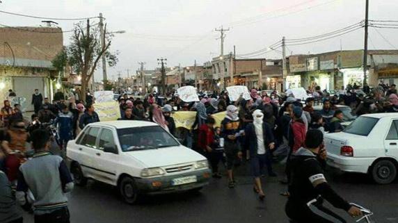 """بازداشتهاى گسترده در اهواز بعد از تظاهرات """"جمعه كرامت"""" در كوى علوى(حي الثورة)"""