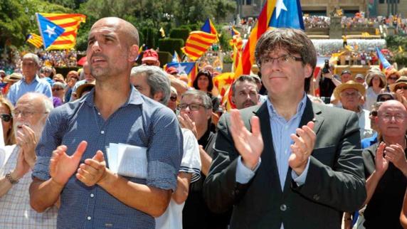 """واکنش گواردیولا به اتهام """"شورش علیه اسپانیا"""""""