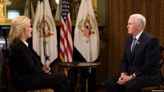 مایک پنس در گفتگوی اختصاصی با صدای آمریکا: میخواهیم شاهد دستیابی ایرانیان به آزادی و دموکراسی باشیم