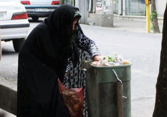 تصاویر کودکان، زنان و مردان زبالهگرد در ایران