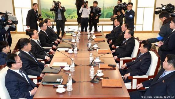 ازسرگیری مذاکرات رسمی میان دو کره پس از دو سال