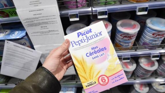 بیش از ۱۲میلیون قوطی شیرخشک مسموم فرانسوی باید جمعآوری شود