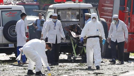 انفجار آمبولانس بمبگذاری شده در کابل؛ دهها کشته