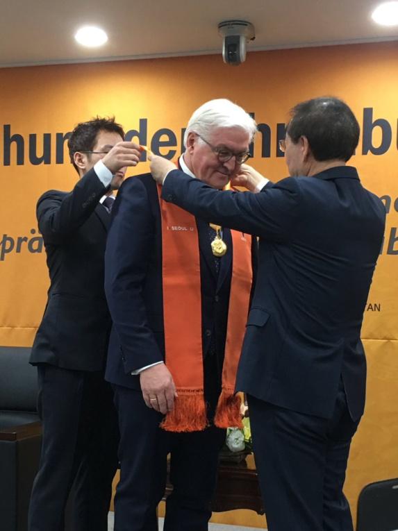 نخستین مدال طلای پیونگ چانگ نصیب رئیس جمهور آلمان شد