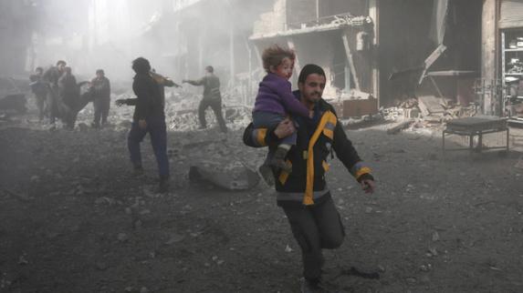 دستکم 250 کشته طی دو روز در حومه شرق پایتخت سوریه