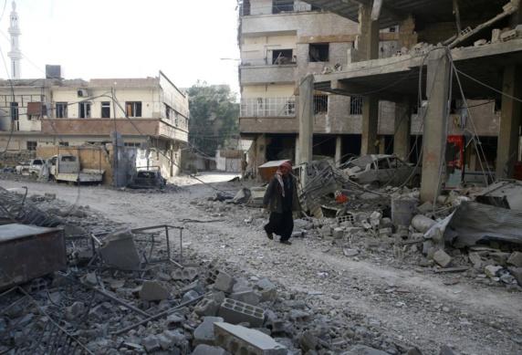 ادامه حملات رژیم علیه غوطه شرقی به رغم اعلام آتشبس