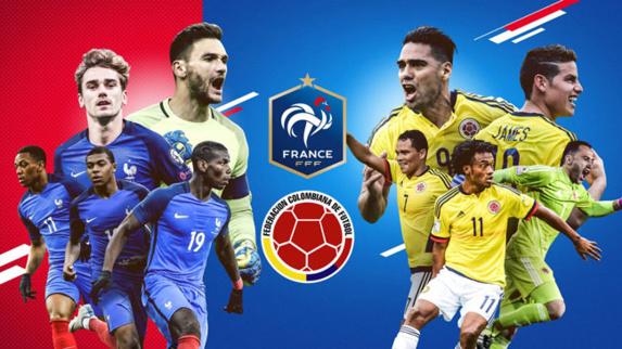 کلمبیا - فرانسه