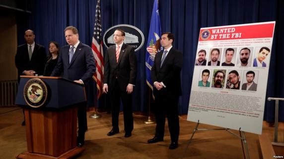 آمریکا، یک موسسه و ۱۰ ایرانی را به اتهام حملات سایبری تحریم کرد؛ واکنش ایران