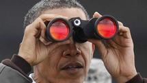 بازدید اوباما از منطقه غیرنظامی مرزی میان دو کره