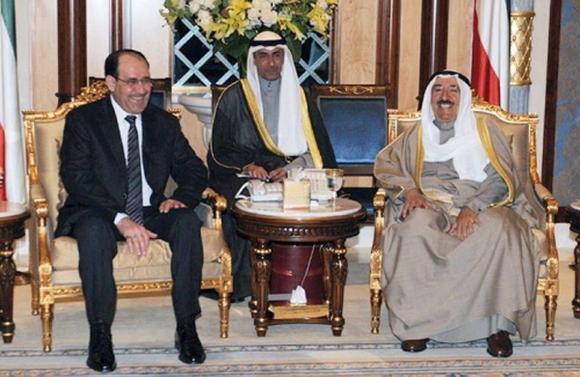 امیر کویت پس از بیست و دو سال وارد بغداد شد