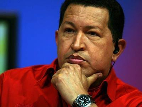 هوگو چاوز رئیس جمهور ونزوئلا