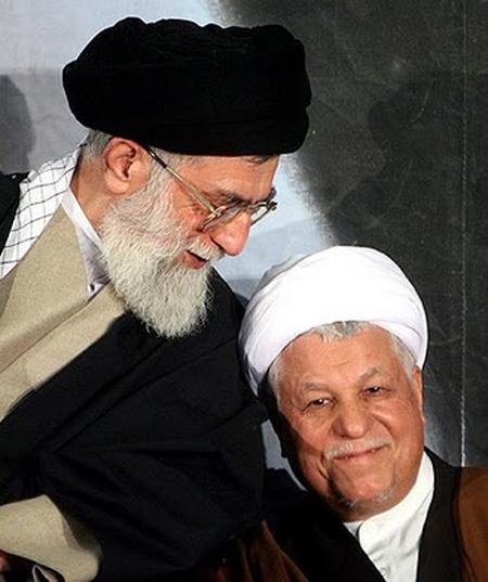 حضور احمدی نژاد در دیدار اعضای مجمع تشخیص مصلحت با خامنه ای