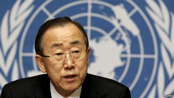بان گی مون: سوریه به ناظران اجازه دسترسی کامل بدهد