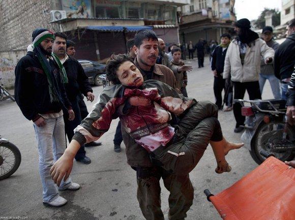 نقض آشکار آتش بس در سوریه