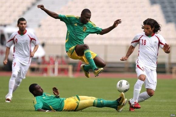 برتری تیم ملی فوتبال ایران مقابل موریتانی