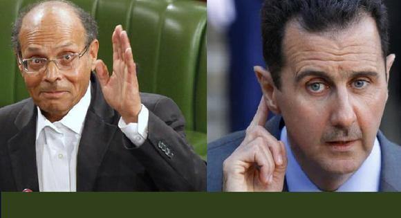 رئیس جمهور تونس خطاب به دیکتاتور سوریه:زنده یا مرده خواهی رفت