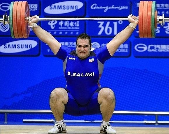 ايران قهرمان وزنه برداری آسيا شد