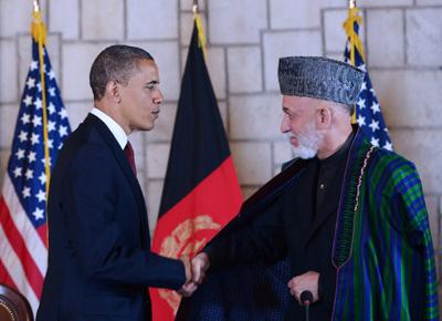 در پی دیدار رئیس جمهوری آمریکا از پایتخت افغانستان، این شهر شاهد وقوع چند انفجار و تیراندازی بوده است