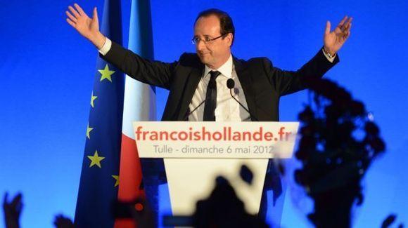پیروزی اولاند در انتخابات فرانسه