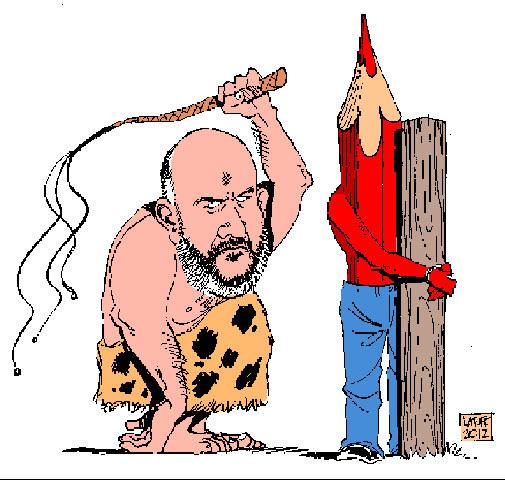 عفو بين الملل صدور حکم شلاق برای کاريکاتوريست ايرانی را محکوم کرد
