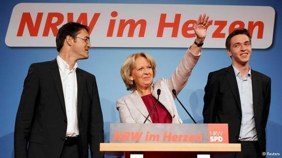 پیروزی سوسیالدمکراتها و سبزها در انتخابات ایالتی در آلمان