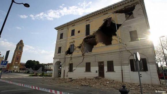 زمینلرزه در ایتالیا دستکم سه قربانی گرفت