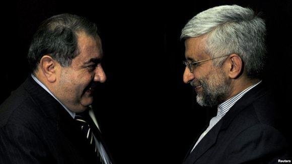 هیات ایرانی مذاکرات هسته ای، وارد بغداد شد