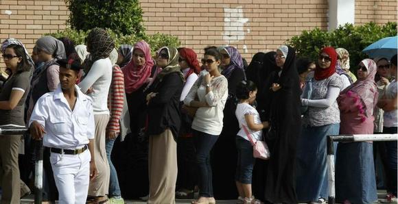 رای دهندگان مصری رئیس جمهوری جدیدی انتخاب می کنند