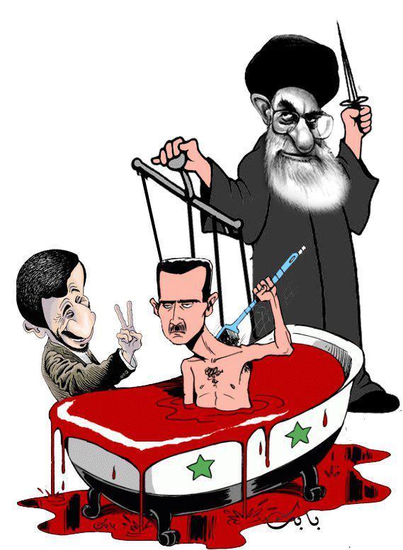 ایران بشار اسد دیکتاتور سوریه را به تهران دعوت کرد