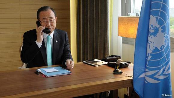 بان کیمون، دبیرکل سازمان ملل، بیلان یاسآوری از اوضاع سوریه به شورای امنیت ارائه داد
