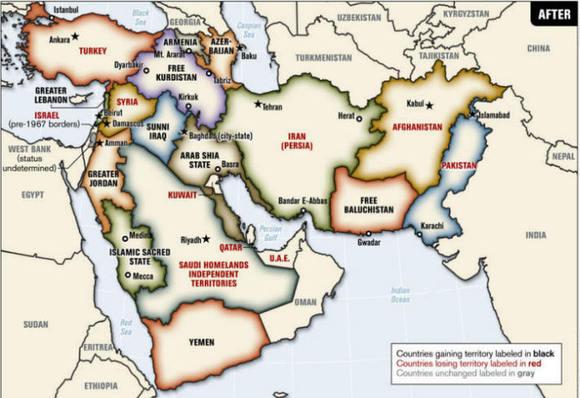 دولتهای خارجی و تجزیه ایران