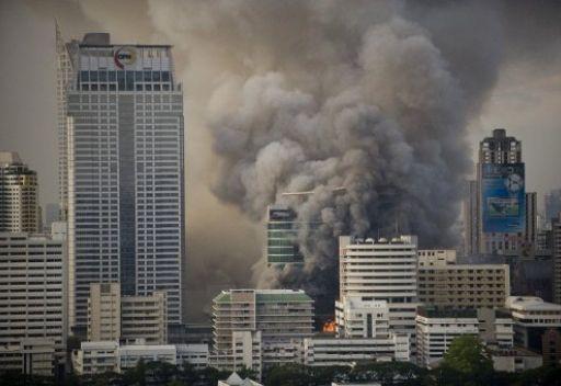 آتش سوزی در قطر ۱۹ کشته برجای گذاشت
