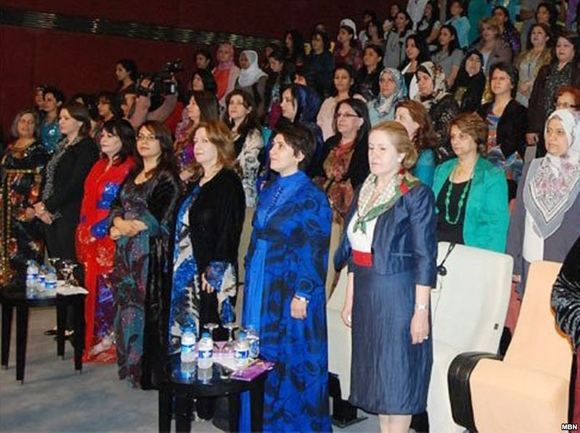 دومین کنفرانس ملی زنان کرد به کار خود پایان داد