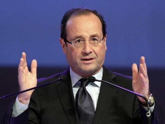 فرانسوا هولاند، رئیس جمهوری فرانسه: مداخلۀ مسلحانه در سوریه منتفی نیست