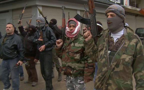 نظامیان ارتش سوریه به ارتش آزاد اسلحه می فروشند