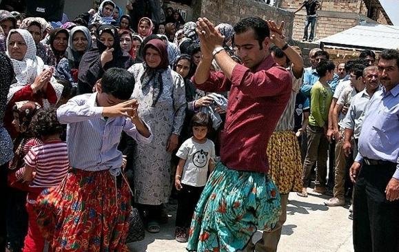 جشن عروسی  در مازندران ایران