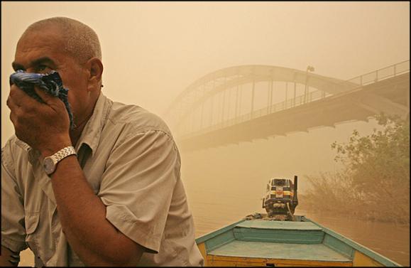 گردو غبار اهواز نخبگان این شهر را وادار به مهاجرت کرد