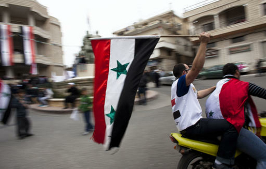 درگیری مسلحانه مخالفان و نیروهای دولتی سوریه در خیابانهای دمشق