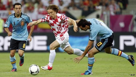 صعود اسپانیا و ایتالیا از گروه سوم جام ملتهای اروپا